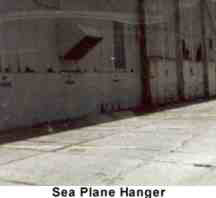 WWII Kilroy Was Here NAS Pensacola Naval Museum  Sea Plane Hanger