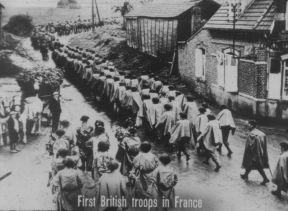 WWII Kilroy Was Here Castle Films FIRST BRITISH TROOPS IN FRANCE
