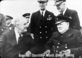 ROOSEVELT - CHURCHILL