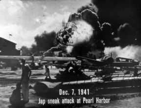 JAP SNEAK ATTACK AT PEARL HARBOR